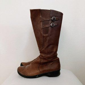Keen 9.5 Tall Brown Leather Boots